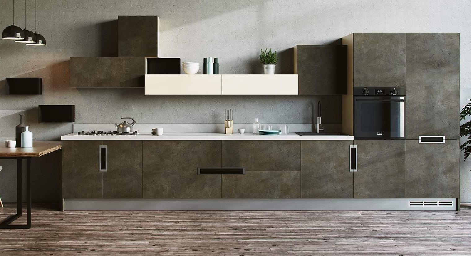 мебель для кухни свободный стиль